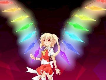 ange aux ailes arc-en-ciel - ange aux ailes arc-en-ciel