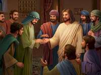 Jesus appears to his disciples jigsaw puzzle