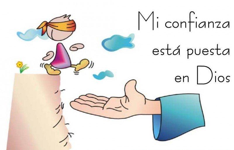 Jag litar på gud - Sätt ihop pusslet som påminner dig om ditt förtroende för Gud (3×3)