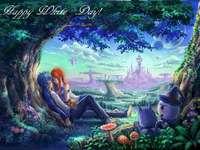 Fairy Tail Erza i Jellal