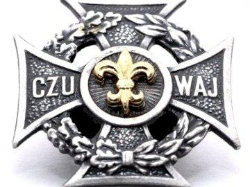 Symbolika ZHP - Krzyż harcerski stworzony w 1912 roku
