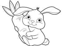 mijn eerste konijnenpuzzel