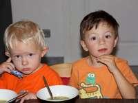 wieczni przyjaciele - Finn i Simon jak mieli 5 lat
