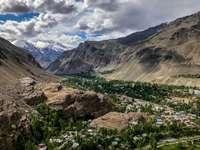 Tadjikistan - Pamir widok na Chorog