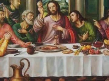 Last Supper - Last supper of Jesus with his apostles