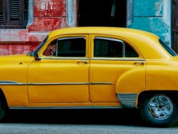 żółty klasyk - żółta strzała do śmigania
