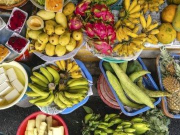 Fruit at the market - Fruit paradise, fruit market