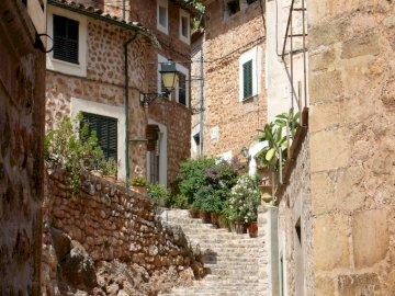 streets of Valldemossa Mallorca - streets of Valldemossa Mallorca
