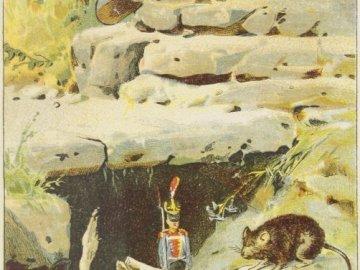 Le brave soldat de tête - H. Ch. Andersen - L'illustration tirée du portail POLONA - est dans le domaine public.