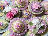 Cupcakes colorés