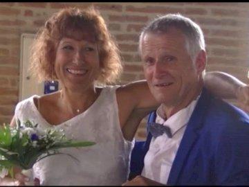 Sabine i Didier - Ślub Sabine i Didiera Sabine i Didier na weselu ŚWIĘTY LYS