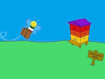 Die Biene sucht nach Hause - TIERE IM FRÜHLING