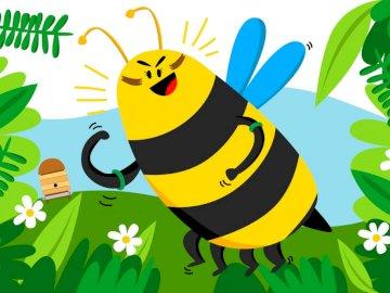 """""""Die APE"""" - Im Frühling geht die Biene von Blume zu Blume"""