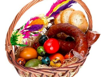 Easter basket - Here is the Easter basket