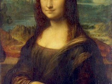 "Renaissance 1 - Painting by Leonardo da Vinci ""Mona Liza"""