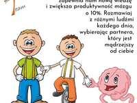 Teamek i Przyjaciele :) - Mózg kocha przyjaźnie i nowych (i starych) znajomych dlatego dbajmy o nasze relacje z innymi ludź