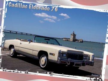 pizzo - Cadillac Eldorado 1976 convertibile