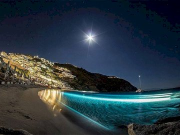 Mykonos by night - Mykonos by night, Greece