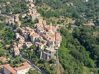 Village of Tales - Village de Contes located in the Alpes-Maritimes