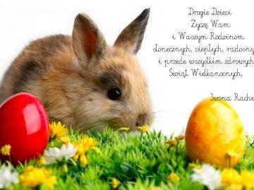 Wielkanoc - Życzenia wielkanocne dla uczniów i ich rodzin