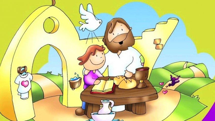 Jezus nigdy cię nie opuszcza puzzle