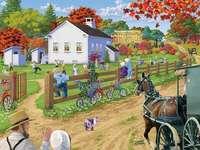 Szkoła Amiszów. puzzle