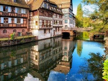 Strasbourg. - Landscape puzzle.