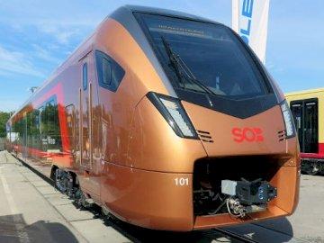 pociąg Flirt 1 - szybki lekki innowacyjny pociąg regionalny