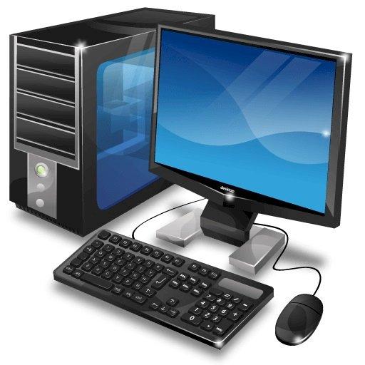ARTEN VON COMPUTERN: DESKTOP-COMPUTER