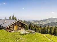 Alpejski krajobraz