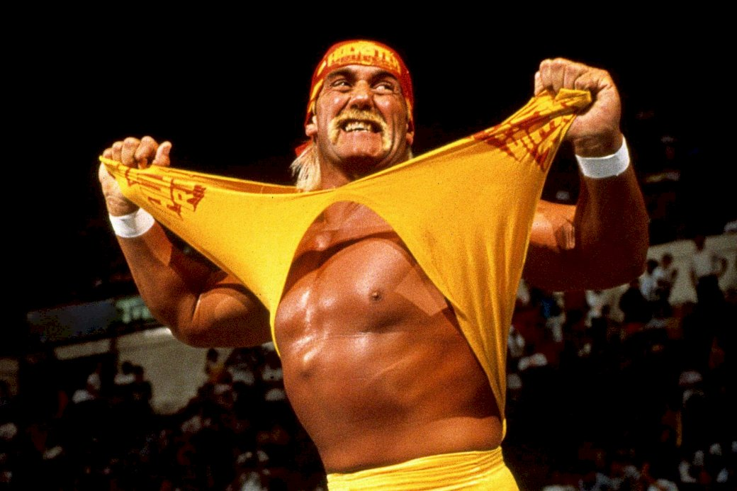 Hulk hogan - Hulk Hogan scheurt zijn shirt uit (5×5)