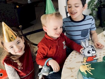 Grandchildren - Timothy birthday