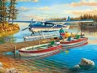 Al lago. - Presso il lago