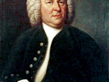 Johann Sebastian Bach - Setze das Johann Sebastian Bach Puzzle zusammen
