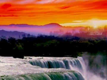 Cachoeira agradável