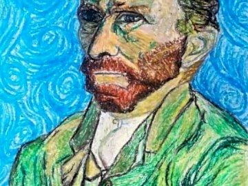 van Gogh - Portrait de Van Gogh par l'artiste Apolline