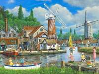 Холандско селище.