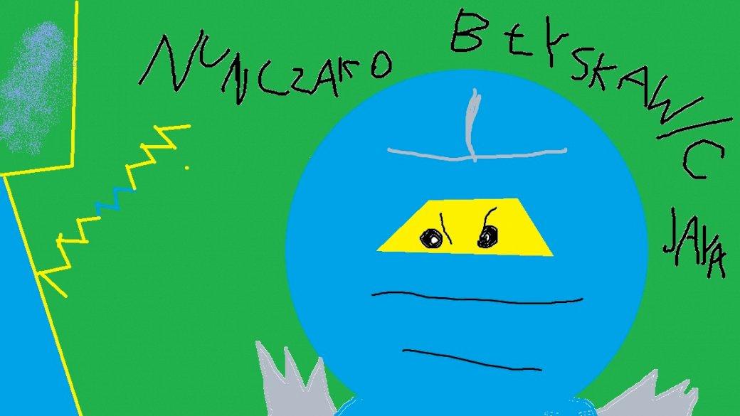 jay ninjago-ból - a lego ninjago jay és nunczako festőkarakter-portréja (2×4)