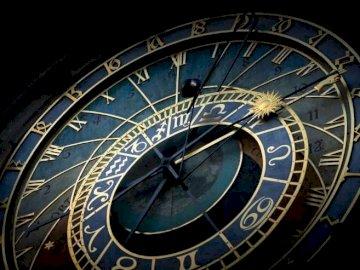 Prague clock - Prague clock in the Czech Republic