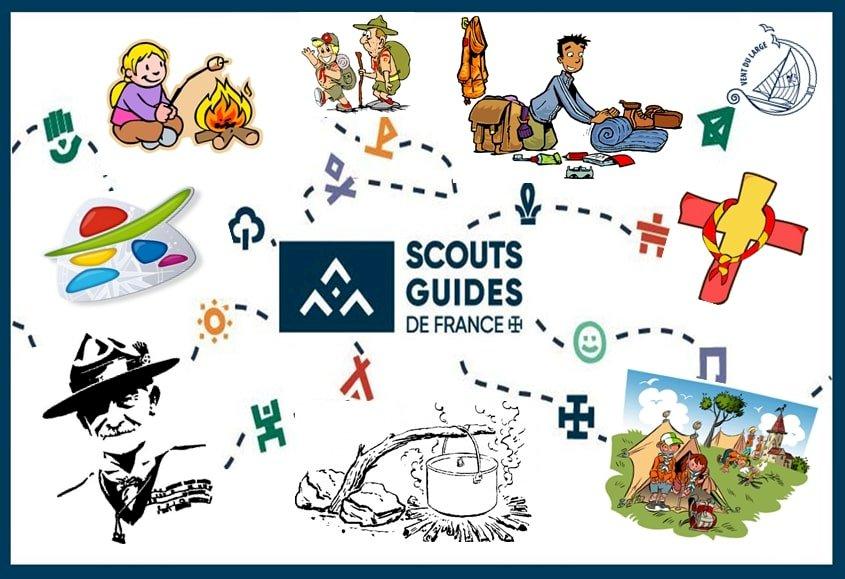 Les scouts - Puzzle scout pour une animations scoutisme (15×15)