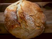 Pâine proaspătă coaptă