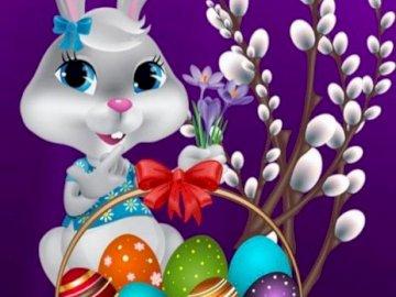Wielkanoc koszyczek święta zajączek :) :) :) - Wielkanoc koszyczek święta zajączek :) :) :)