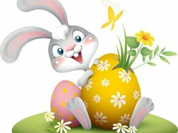 zając święta Wielkanoc radość - zając święta Wielkanoc radość