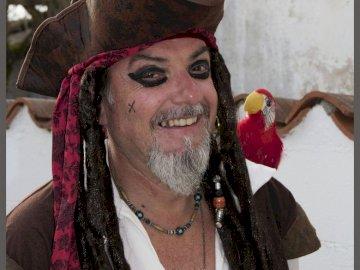 pizzo - Passero pirata caraibico