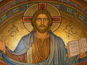 vitrail représentant Jésus - vitrail représentant Jésus