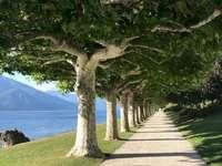 Mesebeli út a Comói-tónál, Olaszország