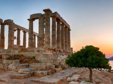 świątynia posejdona - świątynia posejdona w Atenach