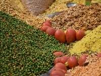 jídlo v indických stáncích