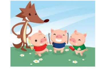 DIE DREI KLEINEN SCHWEINE - die drei kleinen Schweine und der große böse Wolf, traditionelle Geschichte
