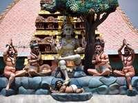 chrám v Madurai, Indie